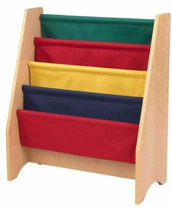 KidKraft Kinder boekenrek+hangvakken meerkleurig 61x29,9x71,1 cm 14226 online kopen