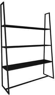 LABEL51 Bergkast 'Fence', Metaal, 125 x 35 x 185cm, kleur Zwart online kopen