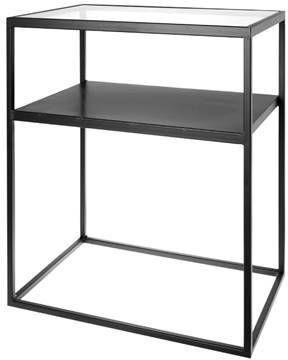 Riverdale Bijzettafel Elano zwart 60cm online kopen