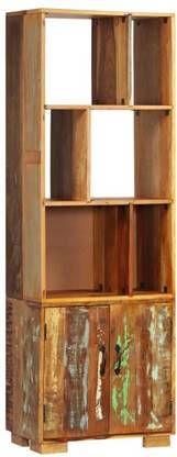 VidaXL Boekenkast 60x35x180 cm massief gerecycled hout online kopen