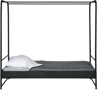 Vtwonen Hemelbed 'Bunk' 120 x 200cm, kleur Zwart online kopen