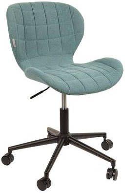 Zuiver Omg Bureaustoel.Kantoorstoel Office Chair Omg Blauw Meubelmooi Nl