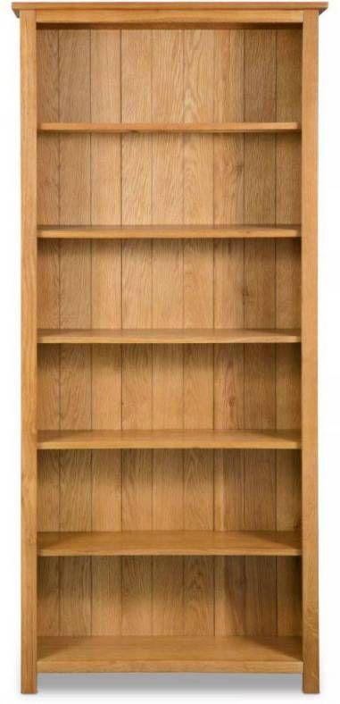 Ongebruikt VidaXL Boekenkast met 6 planken eikenhout 80x22, 5x180 cm CF-04