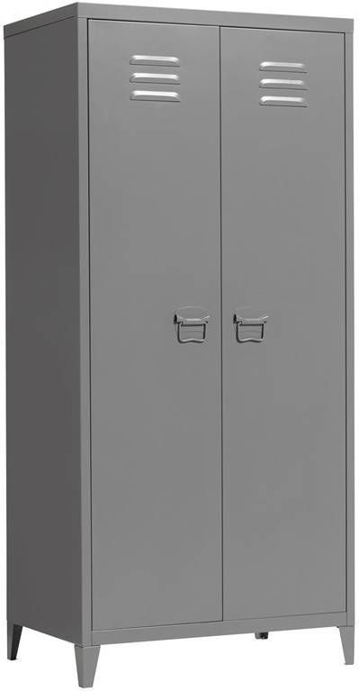 Vtwonen Lockerkast Safe 190cm Metaal Kleur Zwart