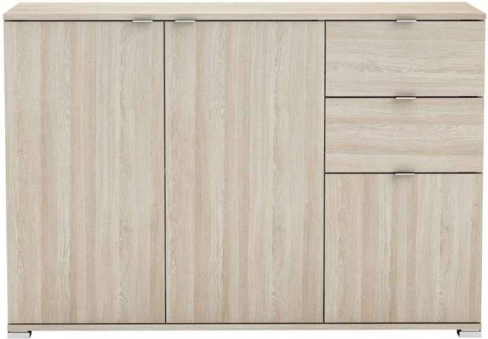 Demeyere dressoir Perfect 3-deurs licht eiken 82x120x42 cm online kopen