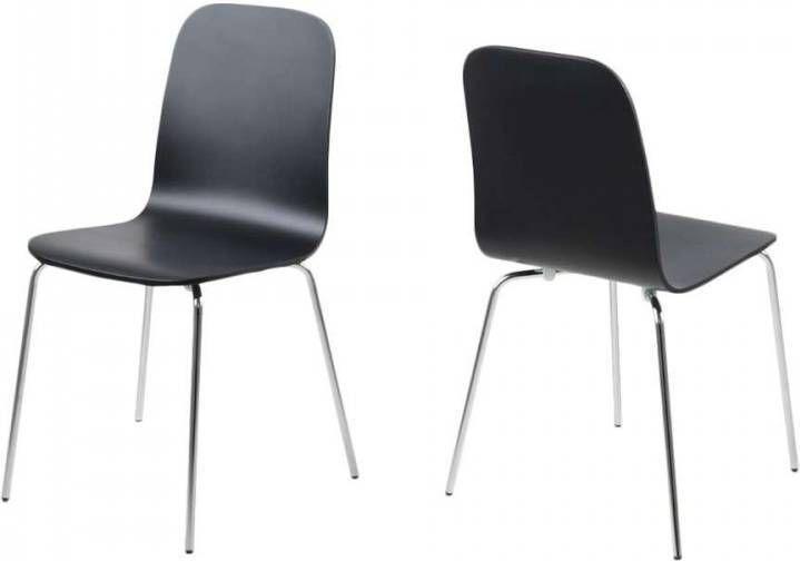 Rotan Stoel Leenbakker : Zwarte leen bakker eetkamerstoelen kopen vergelijk op meubelmooi