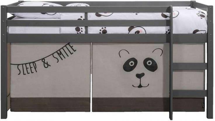 Halfhoogslaper Ties (incl. bedtent Panda) whitewash