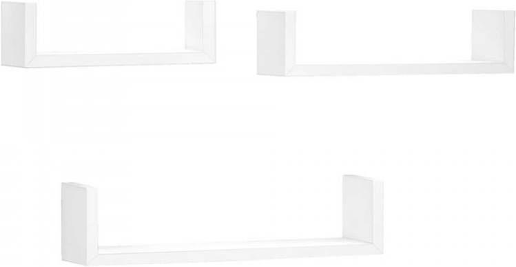 Wandplank Hoogglans Wit.Leen Bakker Wandplanken Online Kopen Vergelijk Op Meubelmooi Nl