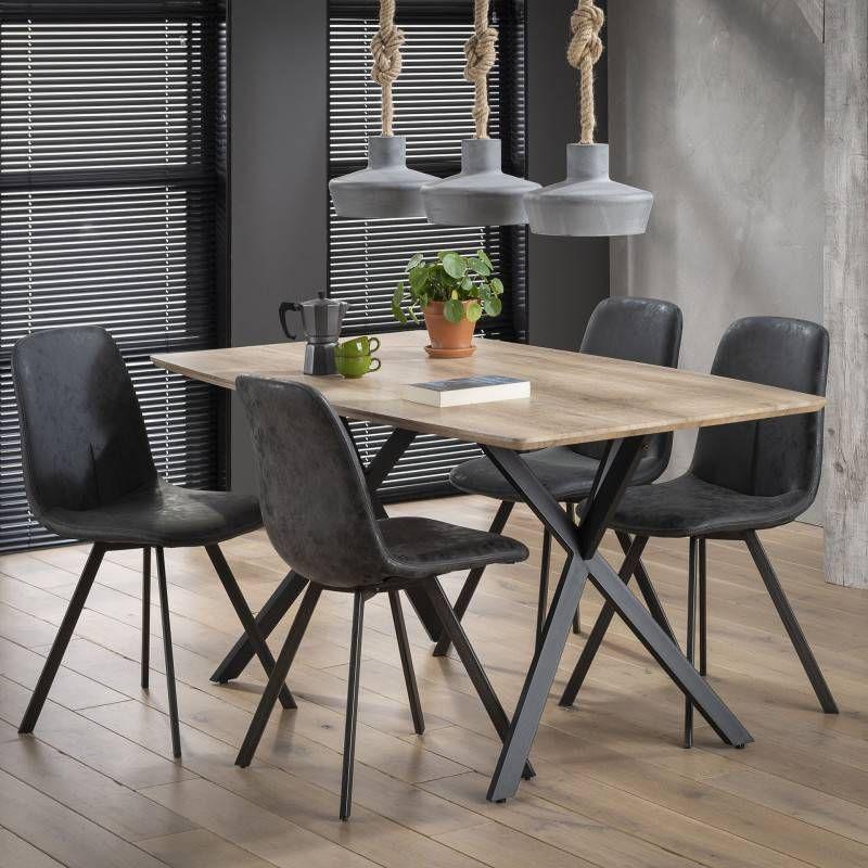 LifestyleFurn Eettafel 'Lakia' 160 x 90cm online kopen