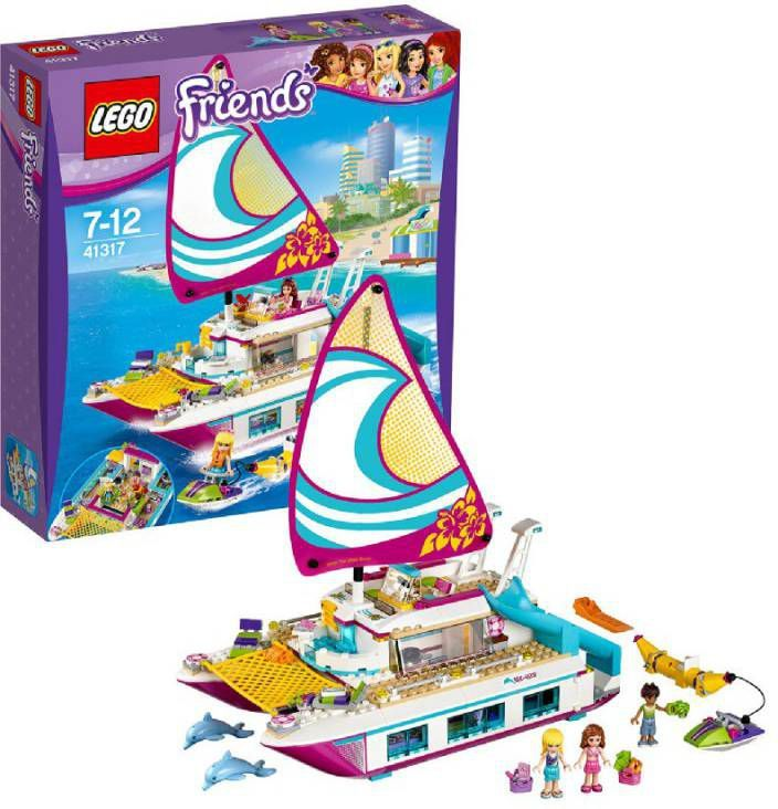 Toychamp | 41317 Sunshine catamaran