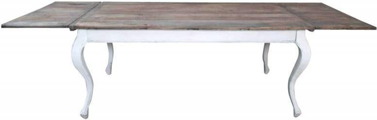 Eetkamer Tafel Riviera Maison.Riviera Maison Uitschuifbare Eettafel Driftwood 180 280 X 90cm